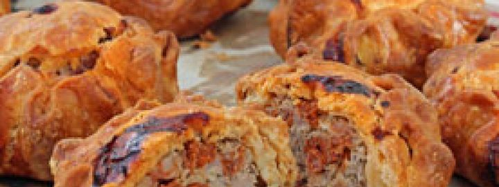 Pork and chorizo pies