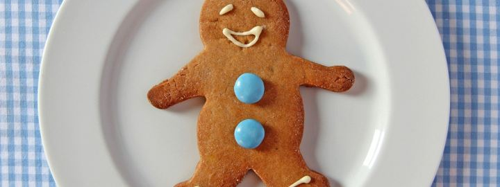 Ultimate gingerbread man