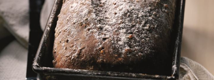 Traditional handbaked wholemeal loaf