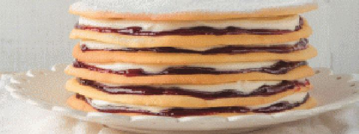 Danish layer cake