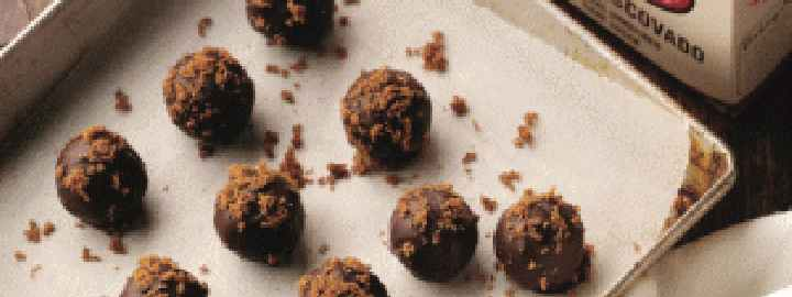 Triple sweet truffles