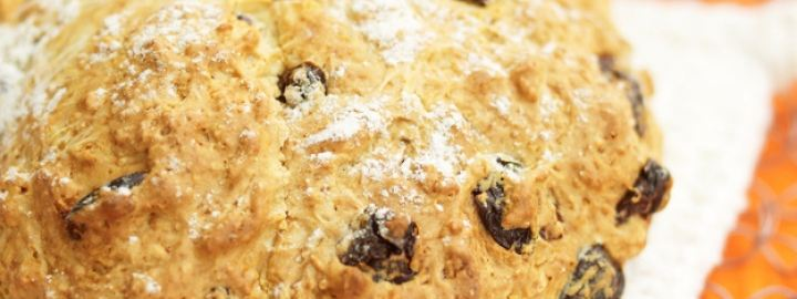 Buttermilk and sour cherry scones