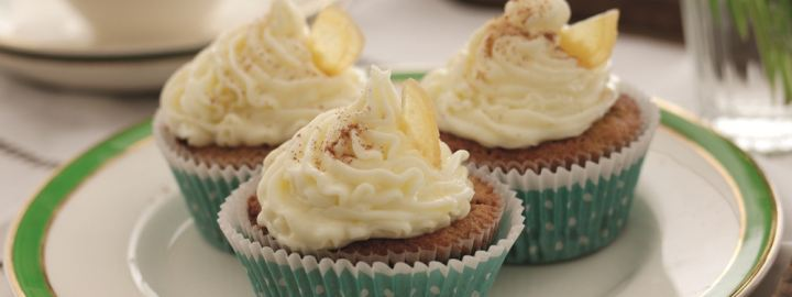 Pumpkin and ginger cupcakes