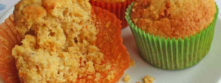 Pumpkin and ginger muffins
