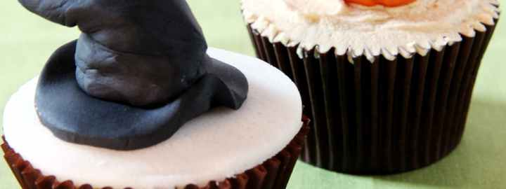 Witches hat cupcake